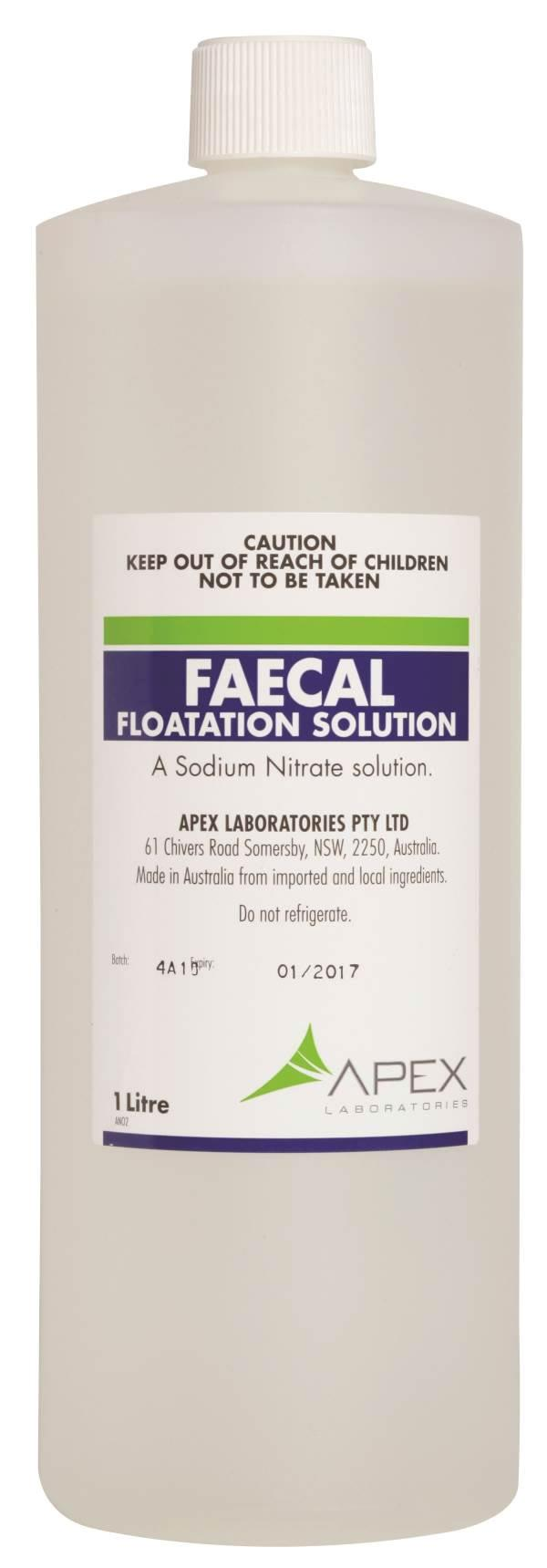 Faecal Flotation Solution