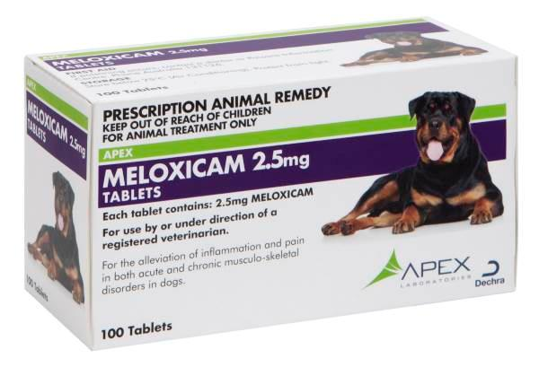 2.5 mg Chewable Tablets for Dogs